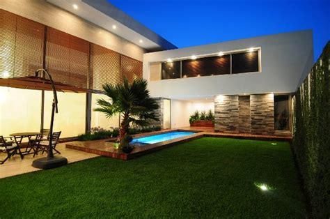 patios de casas modernas patios bonitos de casas modernas deco de interiores