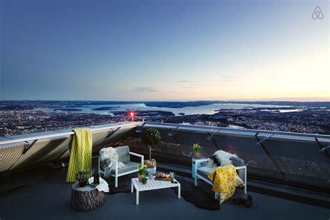 Airbnb Oslo | une nuit insolite dans un tremplin de ski avec airbnb