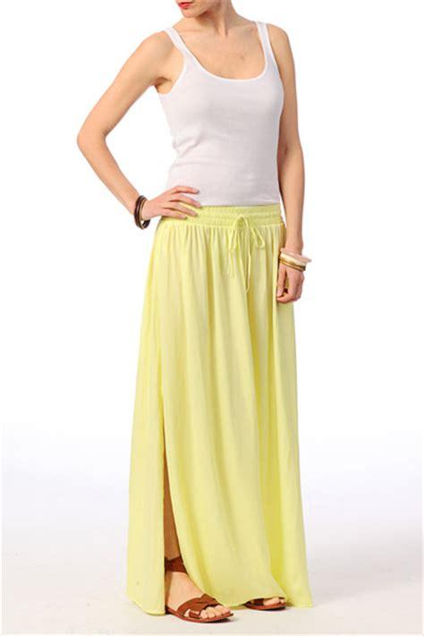 Maxi Elina midi skirt maxi skirt elina maxi skirt ms yellow
