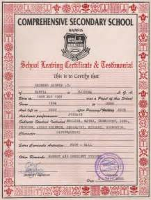 school leaving certificate template secondary school leaving certificate and testimonial flickr