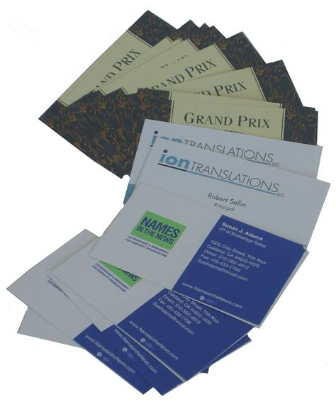 Business Card Printing Greenville Sc