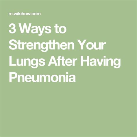 How To Detox Your Lungs With Honey by Best 25 Pneumonia Recovery Ideas On Pnemonia
