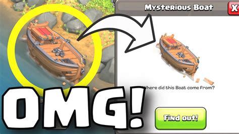 clash of clans broken boat what is this boat clash of clans broken boat appears