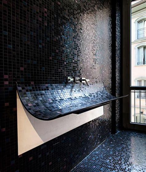 Ordinaire Faience Noire Salle De Bain #2: jolie-idee-pour-votre-salle-de-bain-noire-salle-de-bain-noire-faience-noire-salle-de-bain.jpg