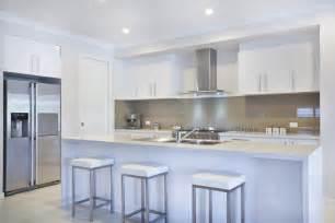 Kitchen Furniture White white modern kitchen with white bar stools