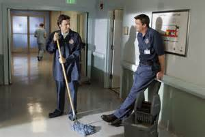 Hospital Custodian by 11 Things You Didn T About Scrubs Even If You Ve Seen Every Episode Huffpost