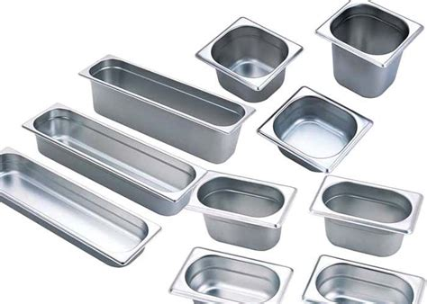 201 Stainless Steel Kitchen Equipment Gn Pan Stainless Cooking Container Kitchen Supplies