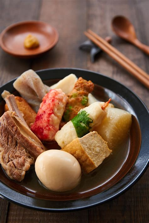 Sparerib Oden Recipe Japanese Comfort Food Delicious