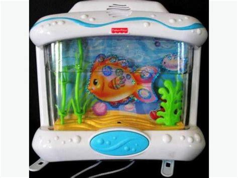 Crib Fish Tank by Almost New Fisher Price Wonders Aquarium Moving Sale