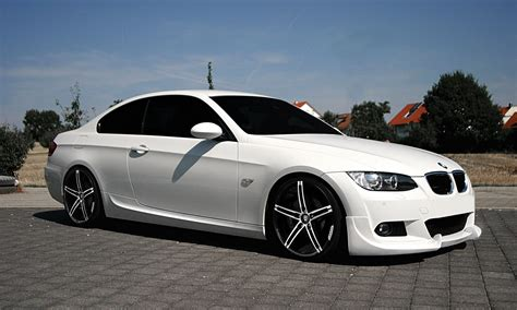 bmw m5 white with black rims