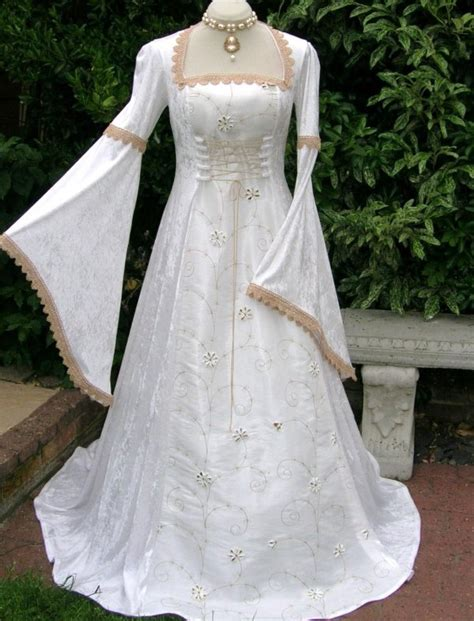 Pagan Style Wedding Dresses by Pagan Renaissance Wedding Dress Dawns