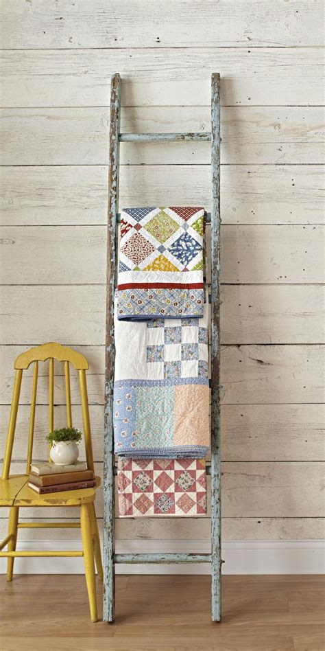 Quilt Ladders For Display by Revive An Ladder To Display Quilts Quilts