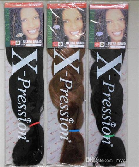 how many packs of xpression hair to get 821 165g pack braid purple surper long hair xpression