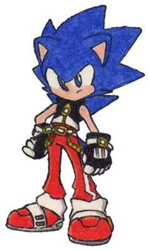how would you redesign sonic the hedgehog sonic and