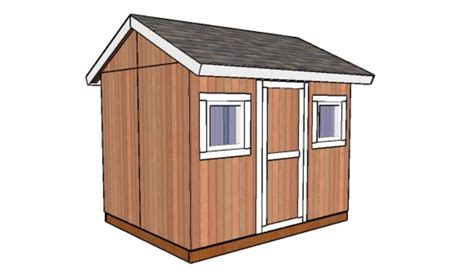 Build 8x10 Shed 8x10 shed plans howtospecialist how to build step by