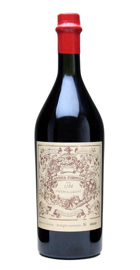 carpano vermouth carpano antica formula italian vermouth