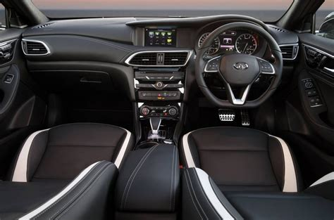 infiniti interior infiniti q30 now on sale in australia from 38 900