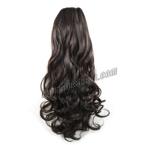 Curly Pony Tail Human Hair Advertised On Qvc | 24 inch simple but effective drawstring human hair