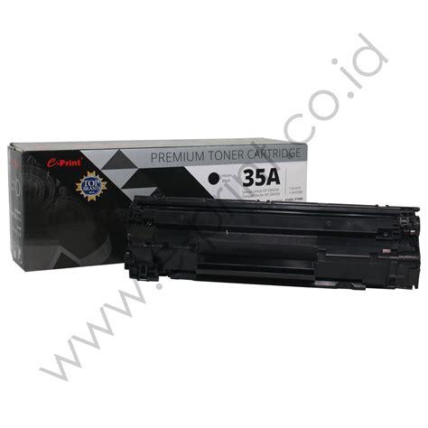 Tinta Printer Hp P1005 toner cartridge cb435a premium e print