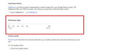Search Results For Number how to increase the number of search results displayed per page