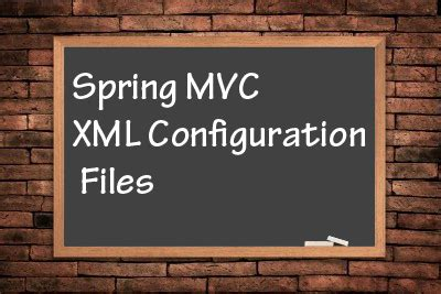 spring mvc tutorial xml configuration xml configuration files for spring mvc pro liferay