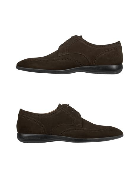 brown suede oxford shoes moreschi brown suede wingtip oxford shoes in brown
