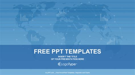 Template Of Powerpoint world map business powerpoint templates