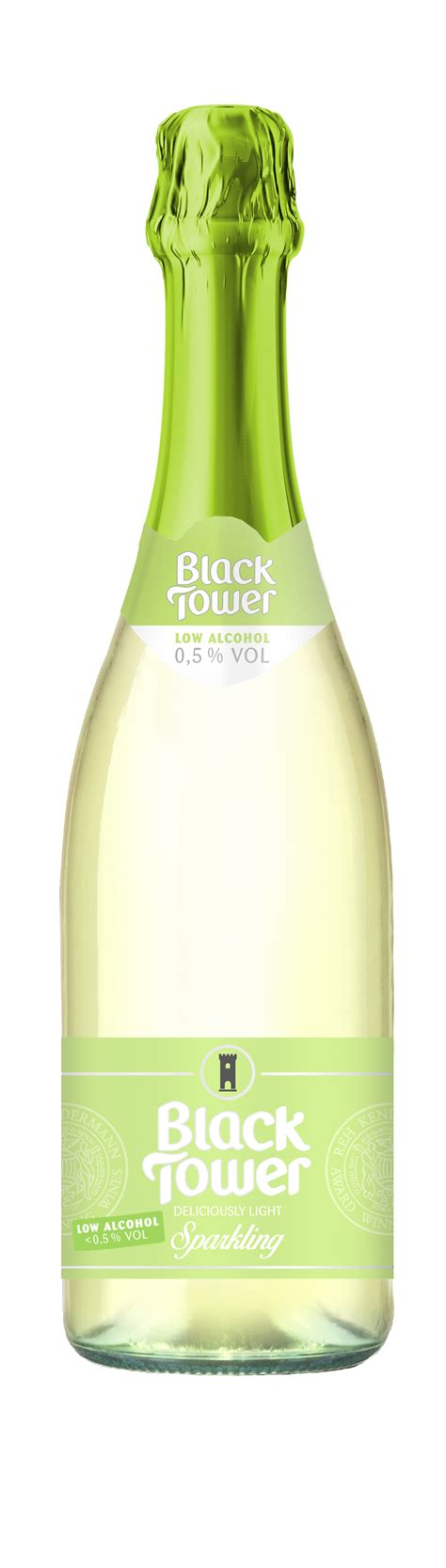 light sparkling wine deliciously light sparkling by black tower black tower