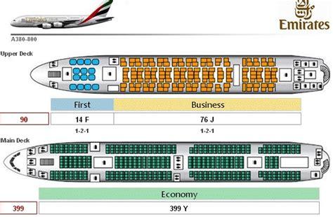 emirates plane seating emirates a380 800 seat map