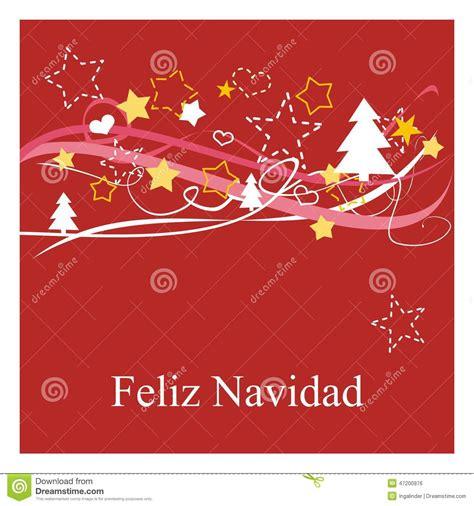 buscar imágenes de merry christmas holidays vector card with espanol wishes feliz navidad