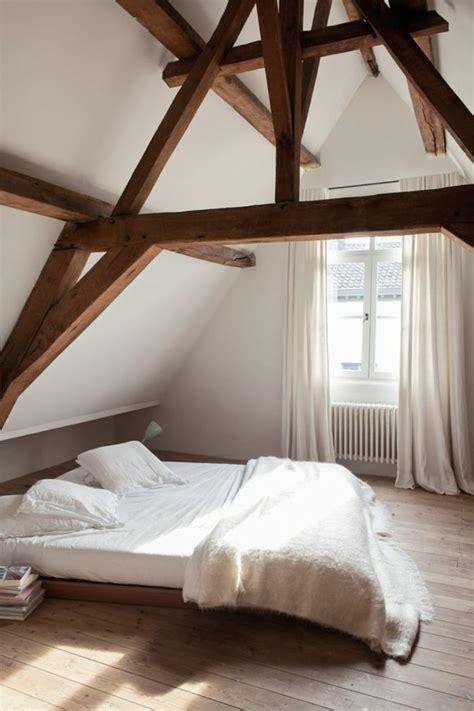 decoration de toit chambre sous pente jolies chambres amnages sous
