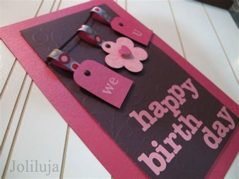 Simple Handmade Birthday Cards For Friends - simple handmade birthday cards collection for friends 12