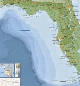 florida gulf cities map maps october 2013
