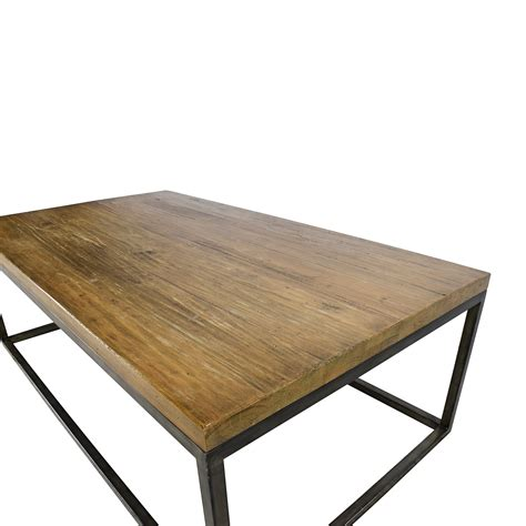 x frame coffee table 51 off west elm west elm box frame coffee table tables