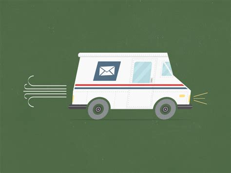 mail delivery mail delivery by ian mintz dribbble