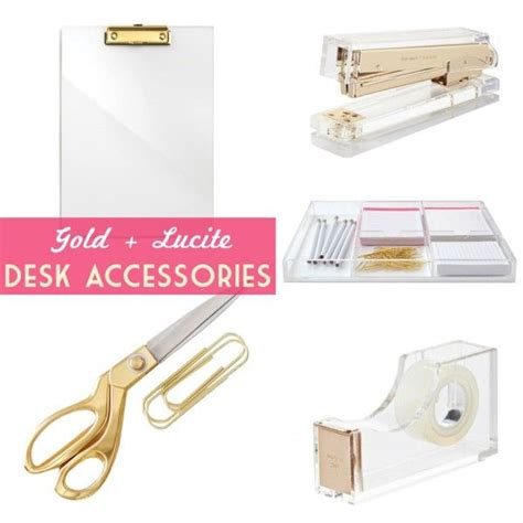 Lucite Desk Accessories Best Home Design 2018 Lucite Desk Accessories