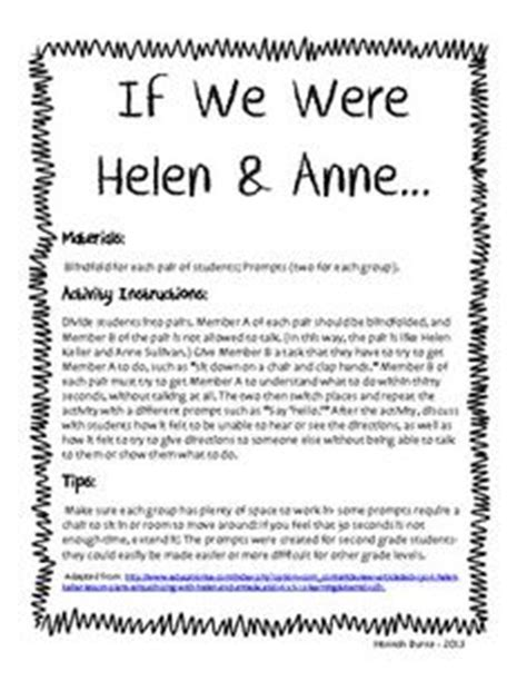 helen keller biography 4th grade helen keller worksheets free worksheets library download