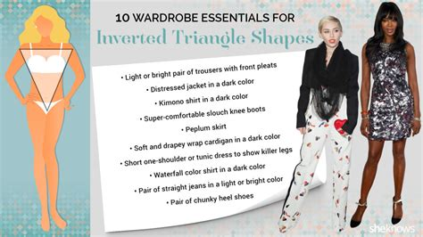inverted triangle body and face shape celebrities how to tell which body shape you are once and for all page 2