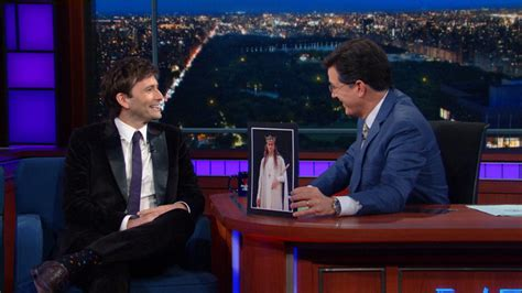 david tennant explains why shakespeare still matters the late show with stephen colbert video david tennant