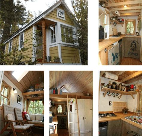 tiny houses pictures inside and out bayside bungalow tiny house built using tumbleweed fencl