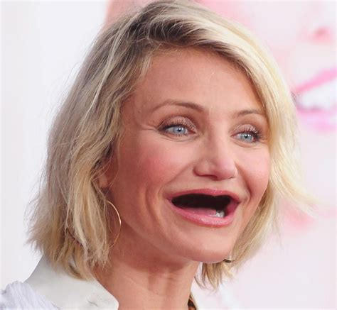 celebrities pictures cameron diaz photos celebrities without teeth ny