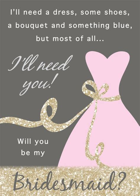 diy will you be my bridesmaid cards template will you be my bridesmaid of honor matron of