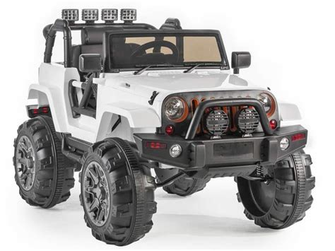 Ride On Jeep Ride On Jeep Trailcat Style White 12v Battery