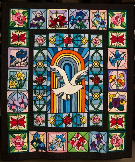 Stained Glass Quilt by Pin By Roy On Whites Shabby Chic Vintage