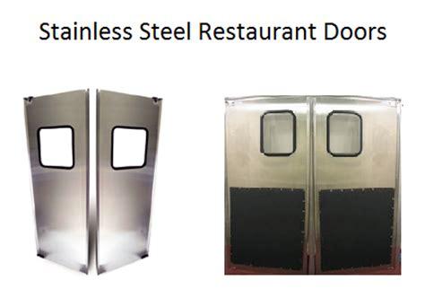 restaurant doors uk stainless steel cafe swing doors