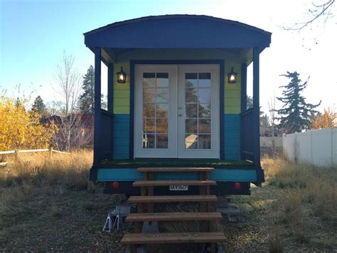 gypsy tiny house mallory s perfectly adorable 180sf gypsy wagon tiny house for us