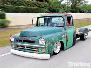 1957 dodge d100 unfinished business truckin magazine