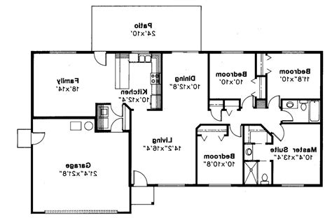 ranch style floor plans with basement 4 bedroom ranch house plans with basement 2017 house