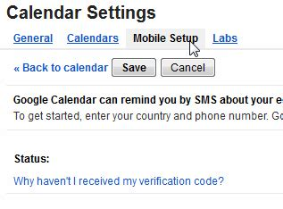 calendar mobile setup get free sms alerts for new comments at your