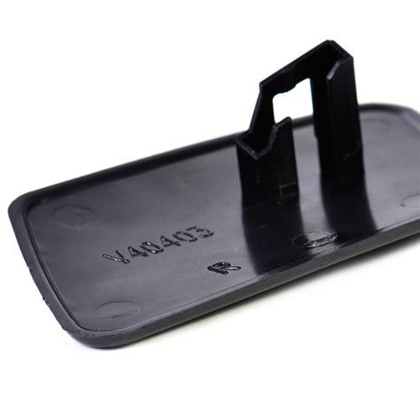 black  headlight washer cover cap front bumper  fit volvo   ebay